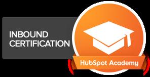 Certification in Inbound marketing