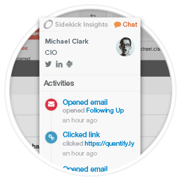 Alerts with CRM