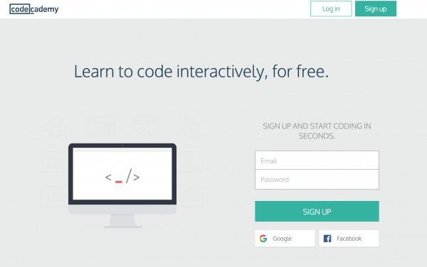 Learn coding online - Code Academy