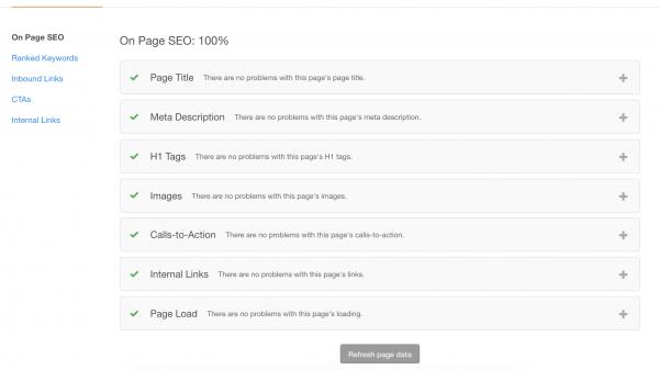HubSpot COS vs Wordpress: HubSpot SEO