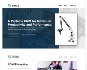 manufacturing marketing strategy website design