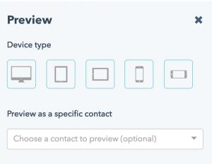 Mobile optimization for blog