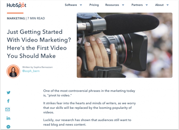 The purpose of content - improving blog effectiveness