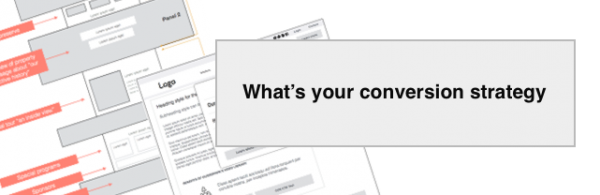 What's your conversion strategy?