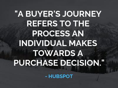 Buyer's journey quote