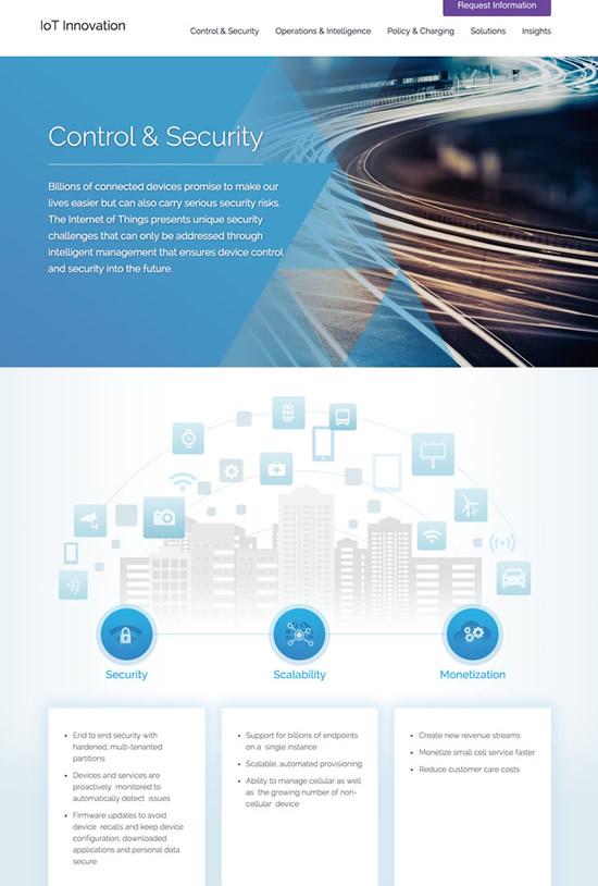 Iot-innovation-website-design