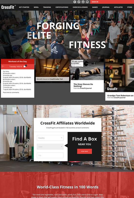 crossfit-website-design-portfolio